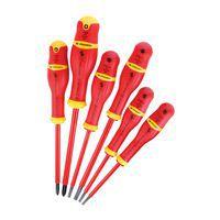 Jogo de 6 chaves de parafusos VDE 1000 V Protwist<sup>®</sup> - Pontas planas & Phillips®