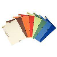Conjunto de classificadores 3 abas - Cartão reciclado