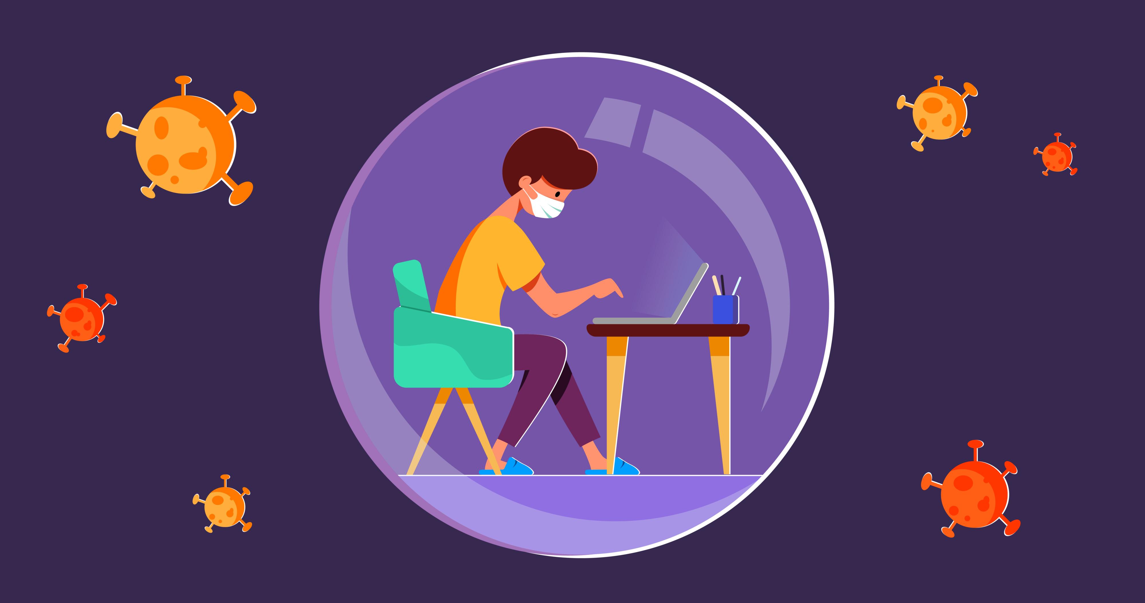 Teletrabalho: Como Trabalhar de Uma Forma Saudável e Produtiva?
