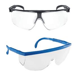 Proteção ocular e facial