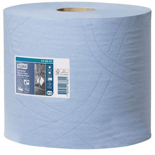 Rolo de papel de remoção industrial Tork alta resistência - 350 folhas