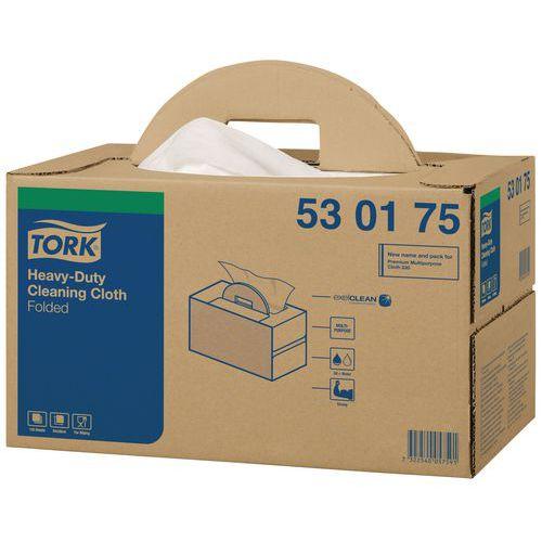Pano em material não tecido Tork ultrarresistente - De 120 a 280 folhas