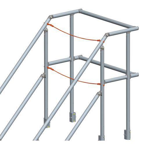 Acessório para plataforma com inclinação de 45° e 60°