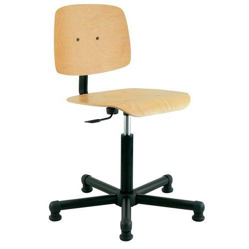 Cadeira de oficina baixa Tecnik