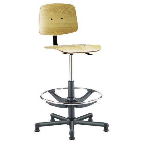 Cadeira de oficina alta Tecnik