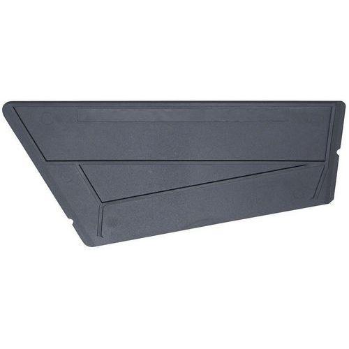 Divisória de cestos metálica para estante Easy-Fix Plus - Schulte