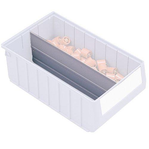 Separador longitudinal para caixas-gaveta da série RK
