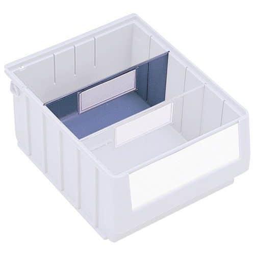 Separador transversal para caixas-gaveta da série RK