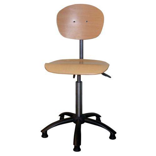 Cadeira robusta - Baixa - Com pés