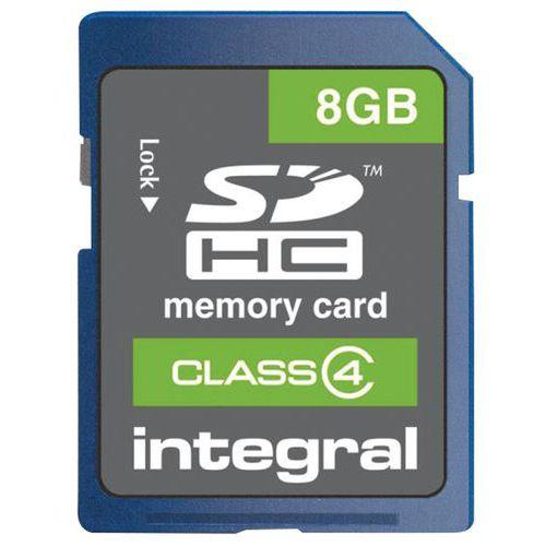 Cartão de memória SDHC Integral classe 4