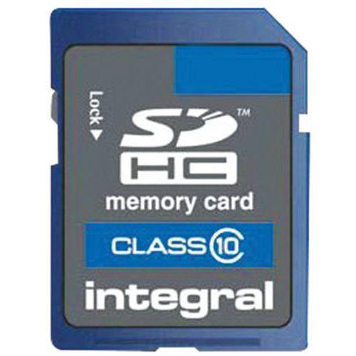 Cartão de memória SDHC – 4 Go – integral