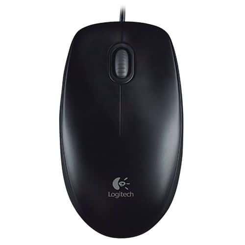 Rato Logitech Óptico B100 Preto