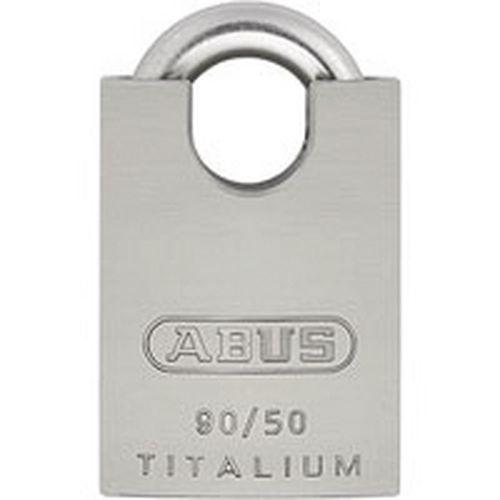 Cadeado blindado Titalium série 90 - Variado - 10 chaves