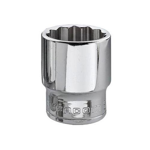 Chave de caixa em polegadas 3/8 de comprimento - 12 faces - Capacidade de 1/2
