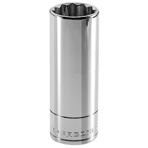 Chave de caixa métrica 3/8 de comprimento - 12 faces - Capacidade de 13 a 17 mm