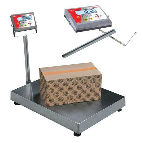 Balança de receção de coluna - Capacidade 150 kg