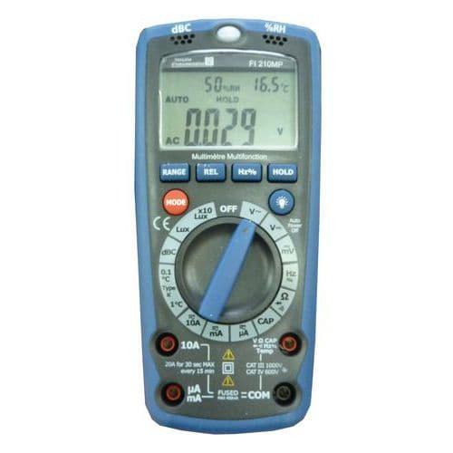 Multímetro digital FI 210MP
