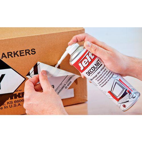 Spray para descolar etiquetas DECOLNET