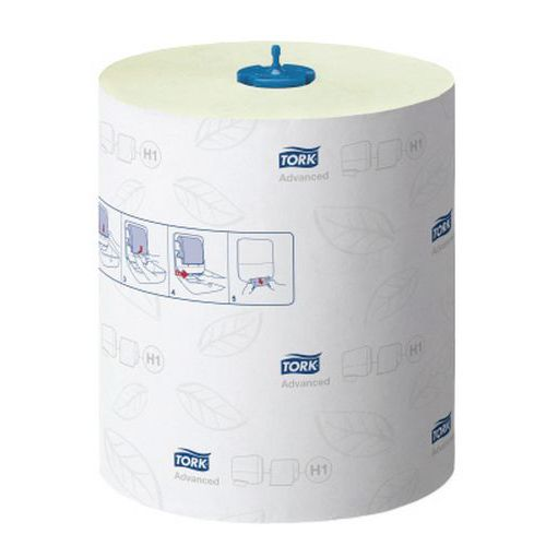 Rolo de toalhetes Tork Matic verde para H1