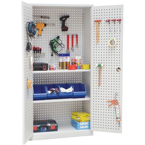 Armário com painéis para ferramentas 2002P - Manutan