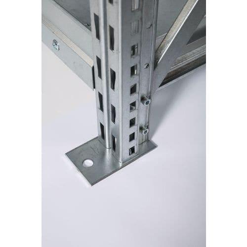 Ilharga para Estante Mini-Rack Pro - Altura 2500 mm - Galvanizada