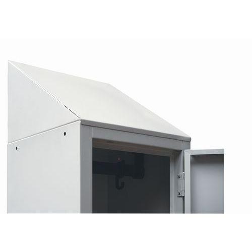 Cobertura inclinada para vestiário Modulo - Manutan