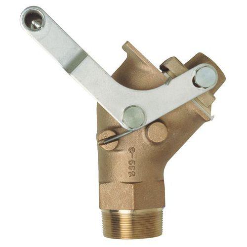 Torneira metálica de grande caudal para bidões – 2
