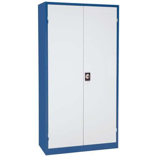 Armário de oficina universal - Altura 195 cm - Largura 100 cm - Manutan