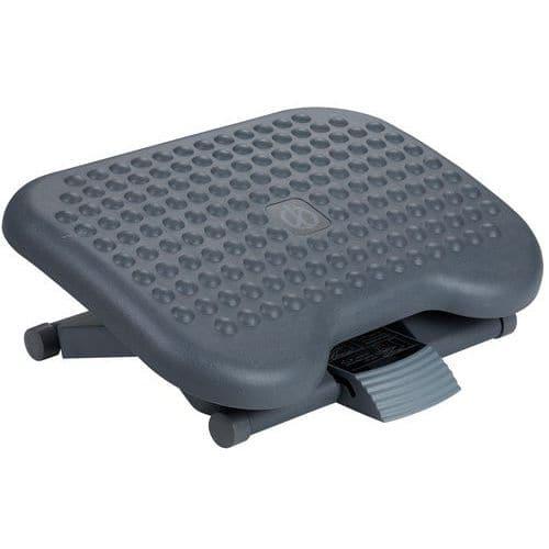 Apoio para os pés ergonómico com função de massagem – Manutan