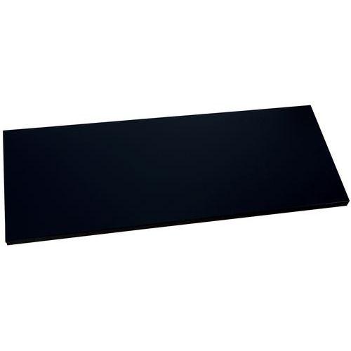 Prateleira para armário com portas rebatíveis – Preto – Manutan