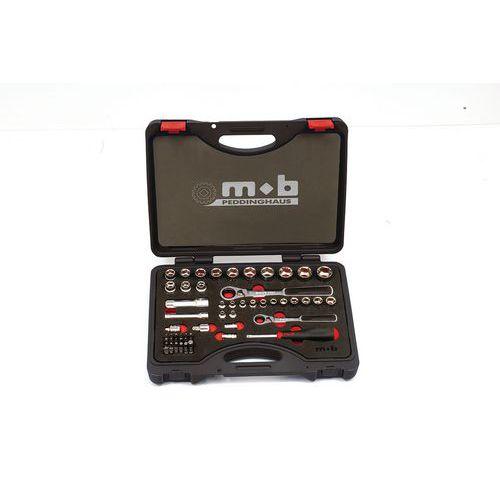 Caixa de chaves de caixa trespassantes, 59 unidades mistas – Mob