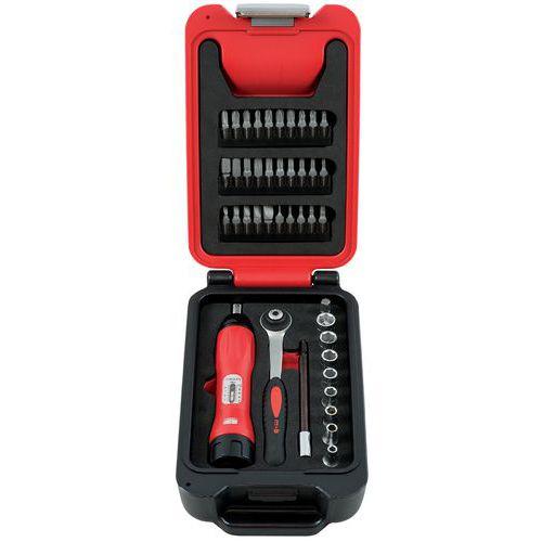 Caixa Fusion Box de chaves de fendas dinamométricas 1/4'' 42 peças – Mob