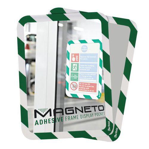 Quadro com bolsa de segurança A4 Magneto - Adesivo