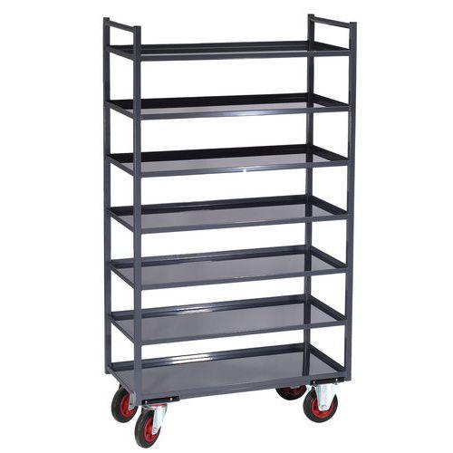 Móvel de apoio metal - 7 plataformas - Capacidade 400 kg