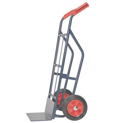 Porta-cargas aço - Rodas borracha - Capacidade 500 kg