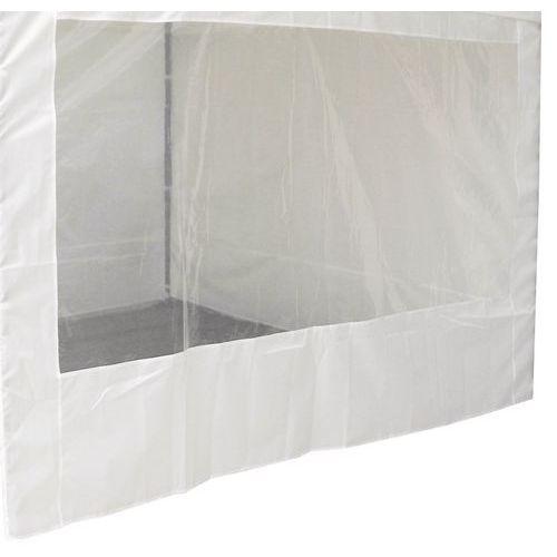 Cobertura para tendas alumínio - Parede com janela
