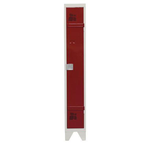 Cacifo com 1 a 4 colunas Premium - Coluna de 300 mm de largura - Com pés