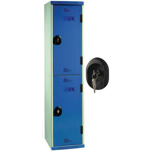 Cacifos com 2 compartimentos Seamline Optimum® – largura da coluna: 300mm – Acial