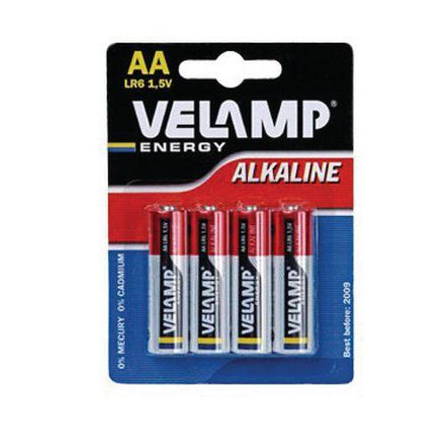 Pilha alcalina Eco AA/LR6 – Velamp