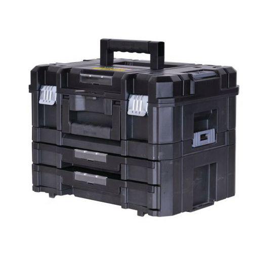 Kit maleta + maleta com 2 gavetas Pro-Stack