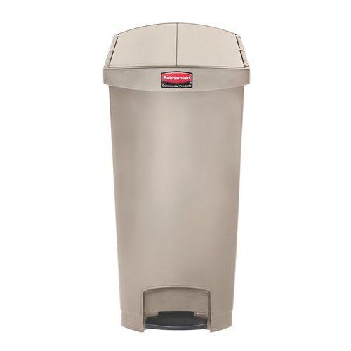 Caixote do lixo em plástico Rubbermaid - 90 L