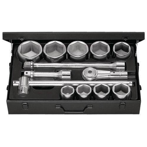 Composição de chaves de caixa 1 - sextavadas de 41 a 80 mm