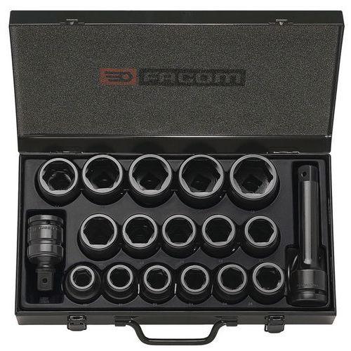 Composição de chaves de caixa impacto 3/4 de 19 a 42 mm
