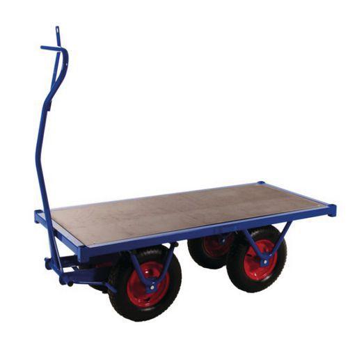 Reboque plataforma única - Capacidade de 750 kg