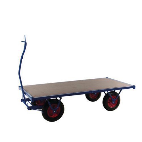 Reboque para cargas pesadas – capacidade de 750kg
