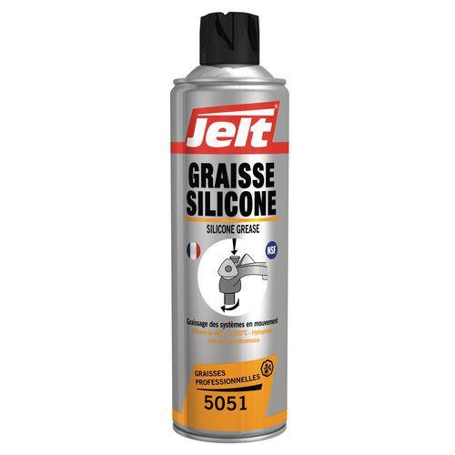 Massa lubrificante de silicone - Jelt