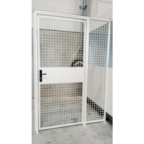 Divisória gradeada modular - Porta