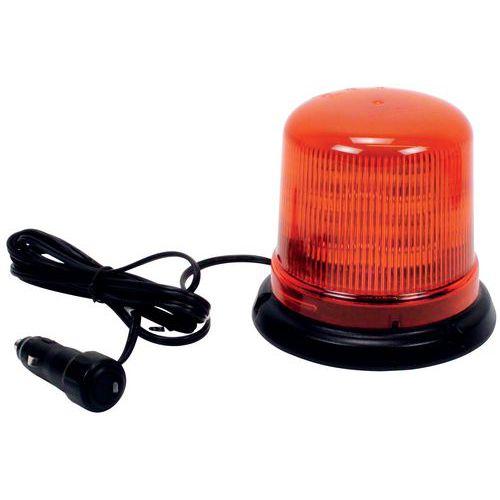 Luz rotativa de sinalização - Fixação magnética - 10 LED B14M