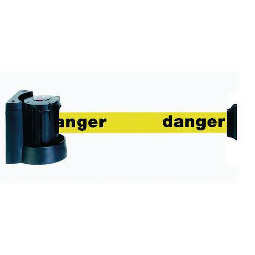 Suporte de parede magnético com correia e marcação