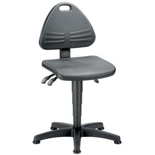 Cadeira de oficina Bimos Isitec – baixa – com patins